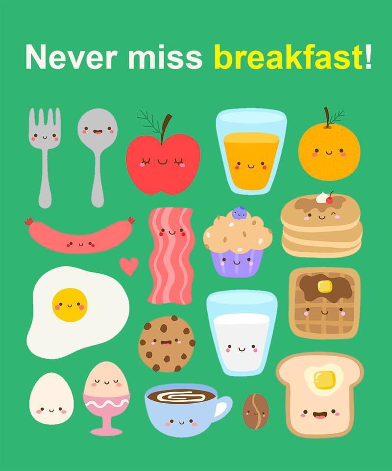 Science Story: Never miss breakfast!