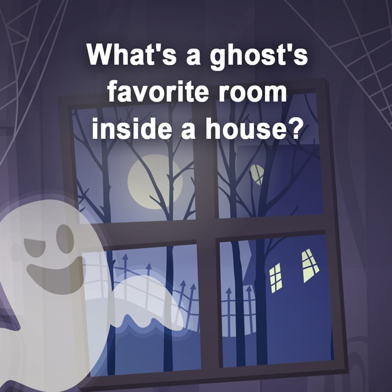 IQ Story: Hard Riddles to Boost Your Brain Power ghost's favorite room inside a house brain exercises for kids