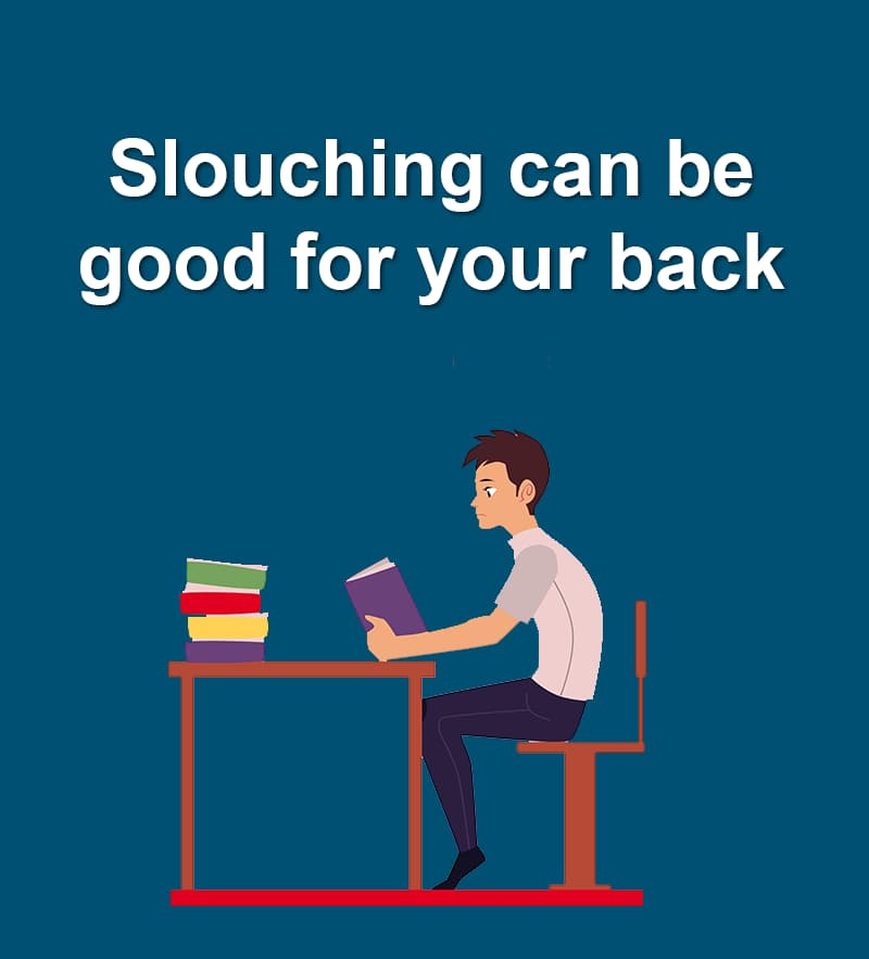 Science Story: Slouching can be good for your back