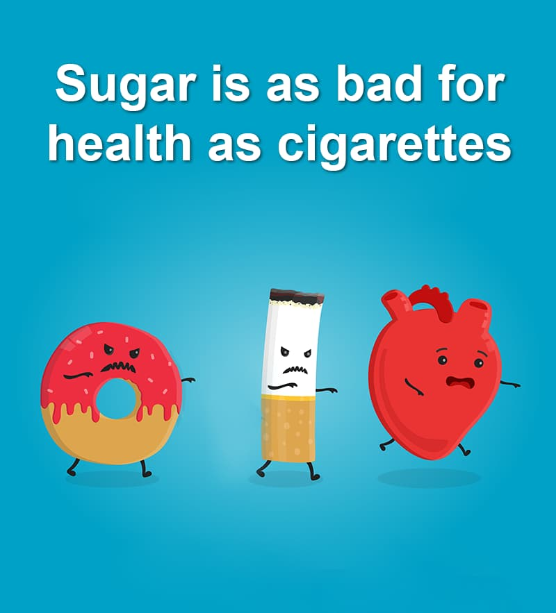 Science Story: Sugar is as bad for health as cigarettes
