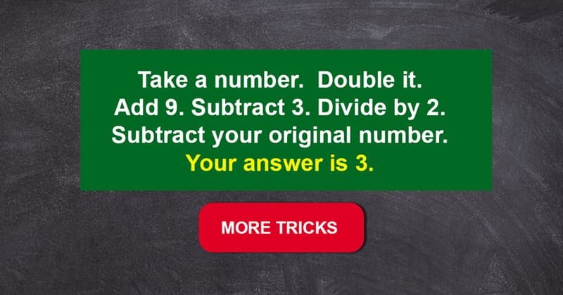 Science Story: These 7 impressive math tricks will blow your mind