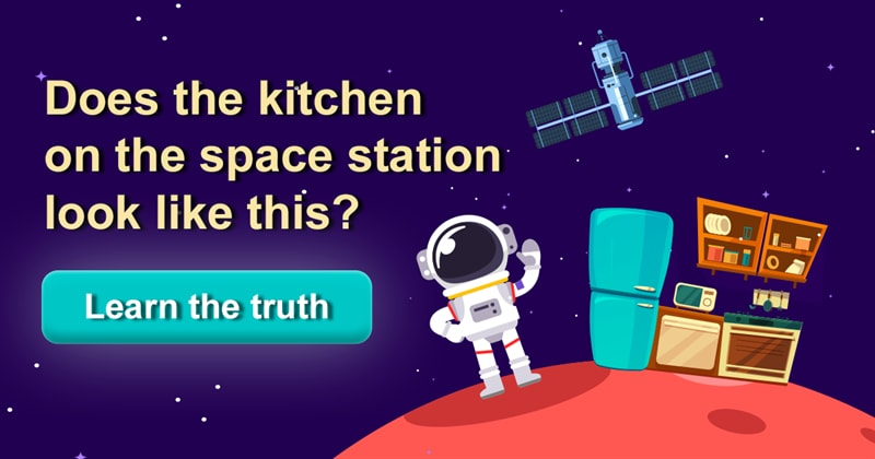 Science Story: What is the kitchen on the ISS (International Space Station) like?