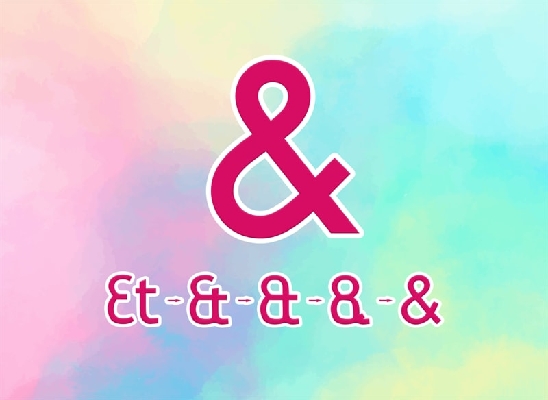History Story: #1 Ampersand or sign &