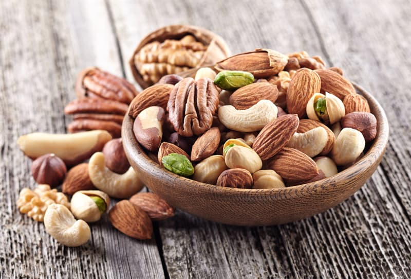 knowledge Story: #10 Nuts take about 3 hours to digest