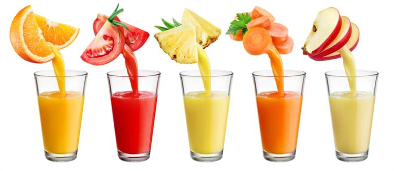 knowledge Story: #2 Vegetable and fruit juice is digested within 20-30 minutes