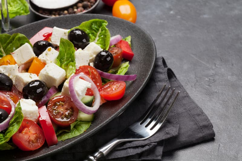 knowledge Story: #5 It takes 1 hour to digest Greek salad