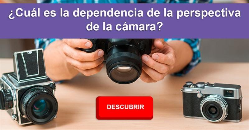 visión Historia: ¿Cuál es la dependencia de la perspectiva de la cámara?