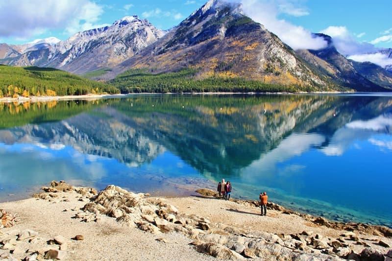 Geography Story: #3 Lake Minnewanka, Canada