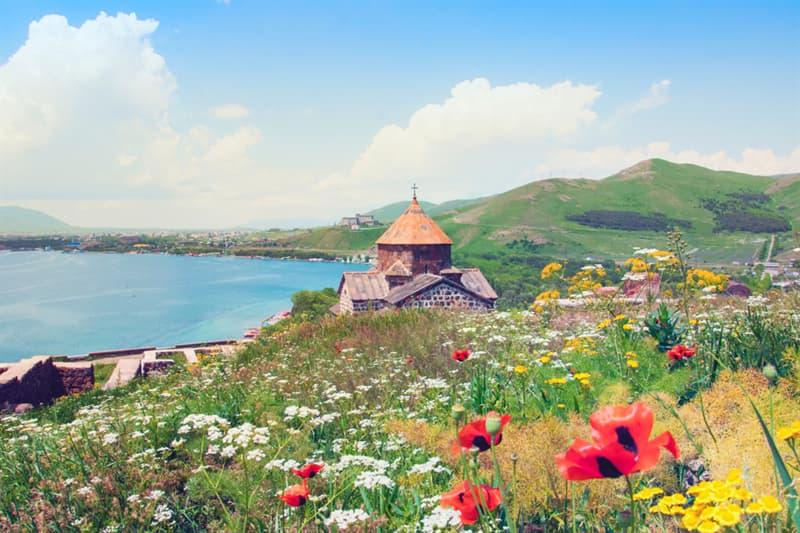 Geography Story: #5 Lake Sevan and the Sevanavank monastery, Armenia