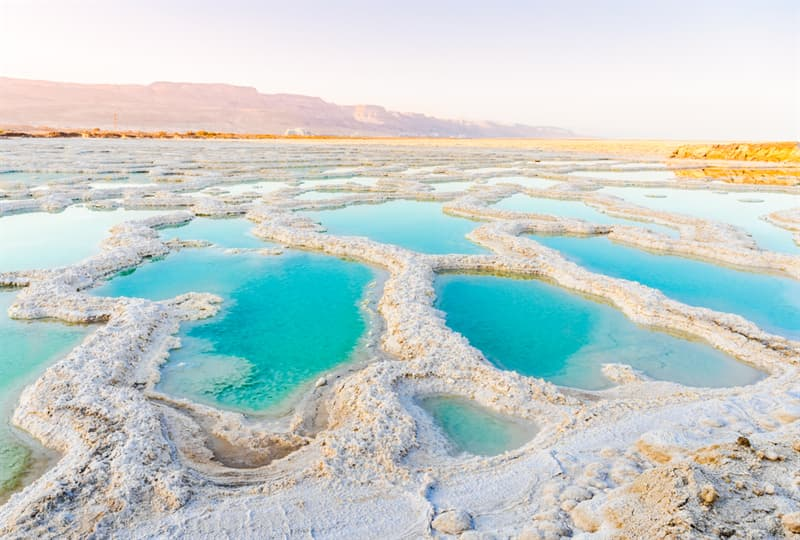 Geography Story: #7 The Dead Sea, bordered by Israel and Jordan