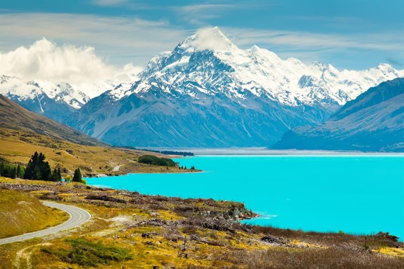 Geography Story: #9 Lake Pukaki, New Zealand