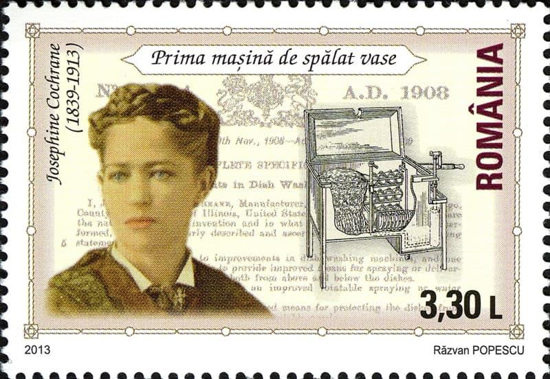Culture Story: #3 Josephine Cochrane – the dishwasher