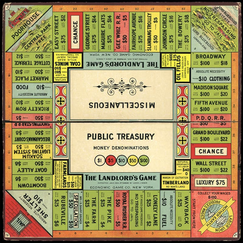 Culture Story: #5 Lizzie Magie – Monopoly