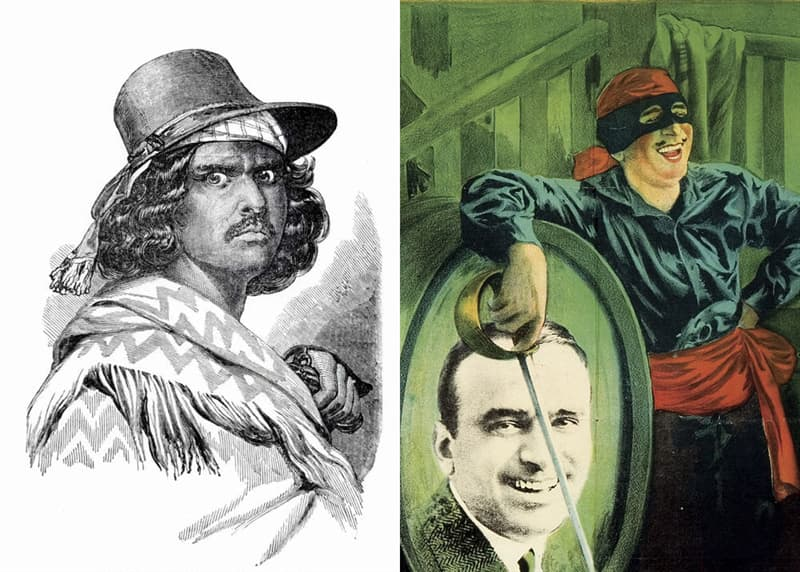 Culture Story: #4 Joaquin Murrieta – Zorro