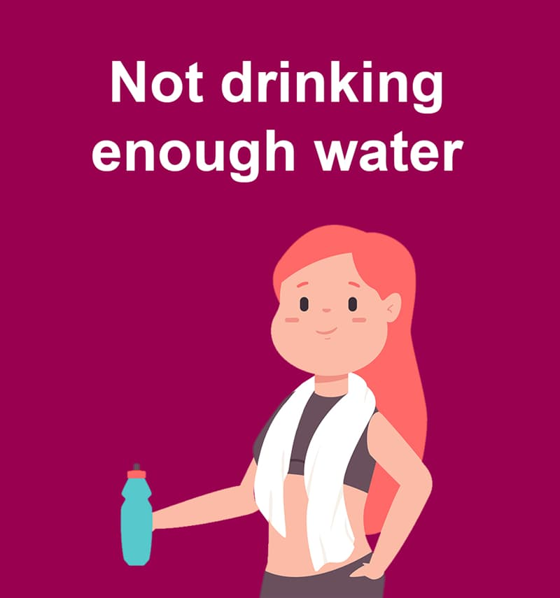 Science Story: Not drinking enough water