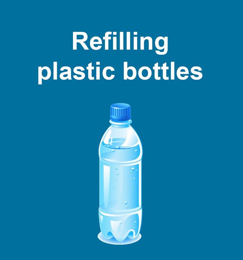 Science Story: Refilling plastic bottles