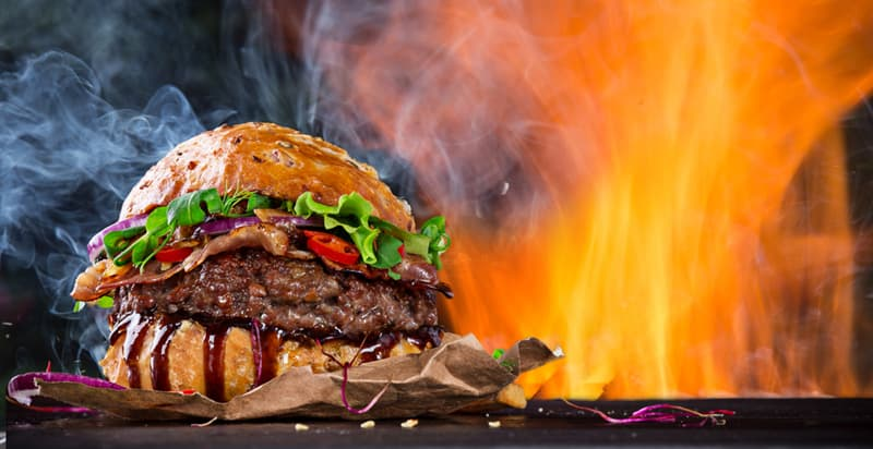 History Story: World's largest hamburger Guinness World Records