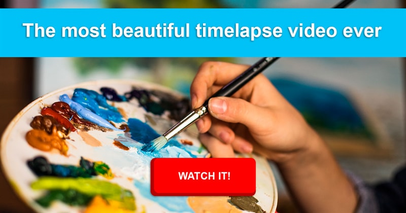 Culture Story: An artist spent 2.5 years creating an amazing timelapse video!
