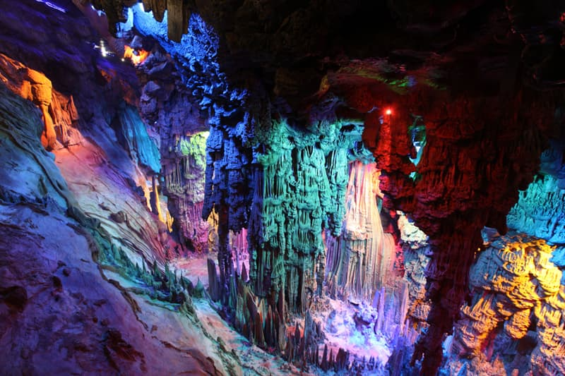Geography Story: #12 Reed Flute Cave, China