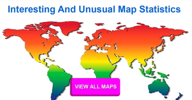 Geography Story: What are some interesting maps of the world, depicting interesting facts?