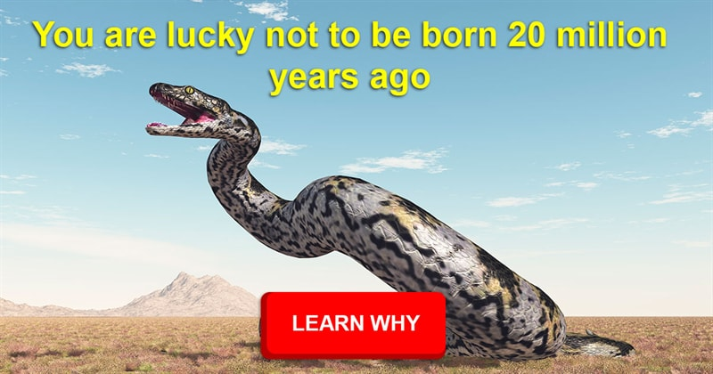 History Story: What would be the most terrifying extinct animal if it were still alive today?