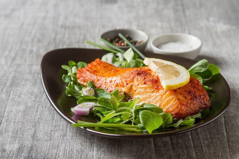 food Story: #4 Salmon lowers the risk of depression