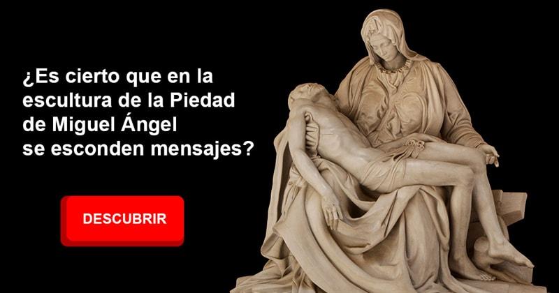 Cultura Historia: ¿Es cierto que en la escultura de la Piedad de Miguel Ángel se esconden mensajes?
