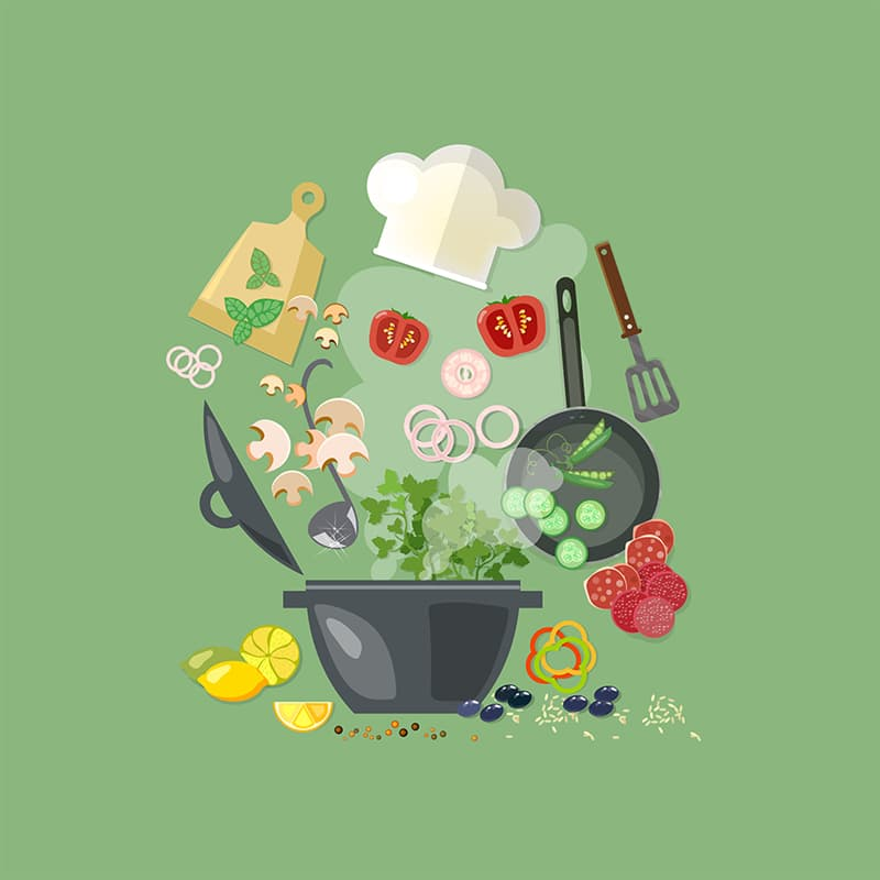 Science Story: #2 Learn how to cook new dishes
