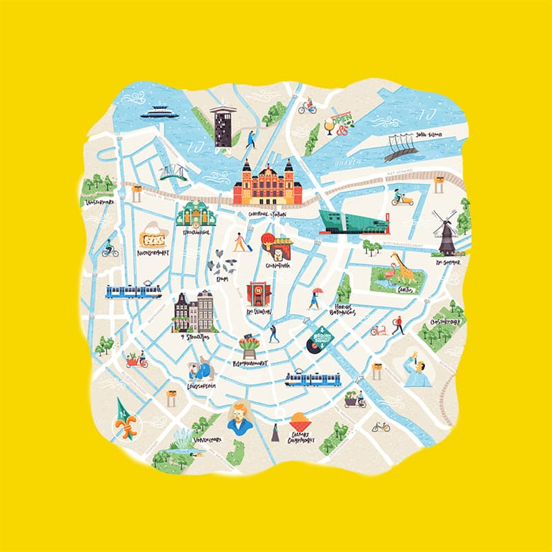 Science Story: #4 Draw maps of the places you've been to