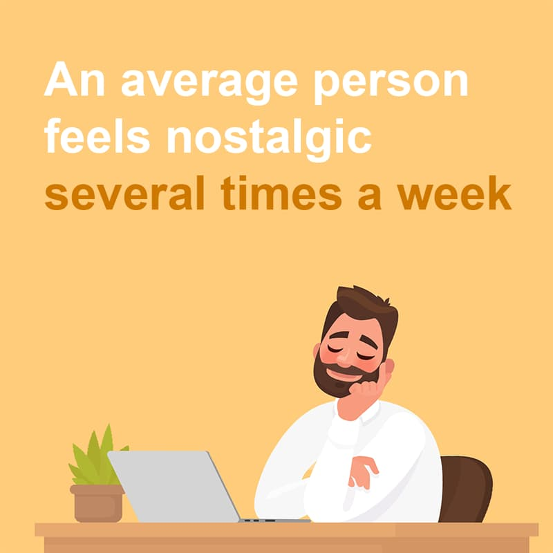 Science Story: An average person feels nostalgic several times a week