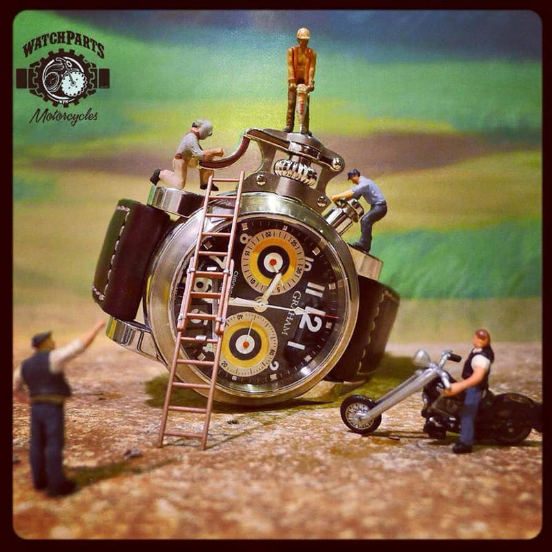 Culture Story: This sculptor create tiny masterpieces from vintage watch parts – and they're absolutely unique