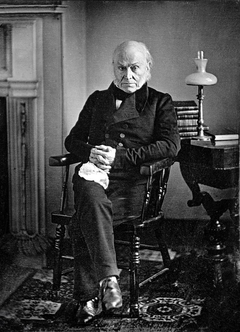 History Story: #3 John Quincy Adams and his alligator