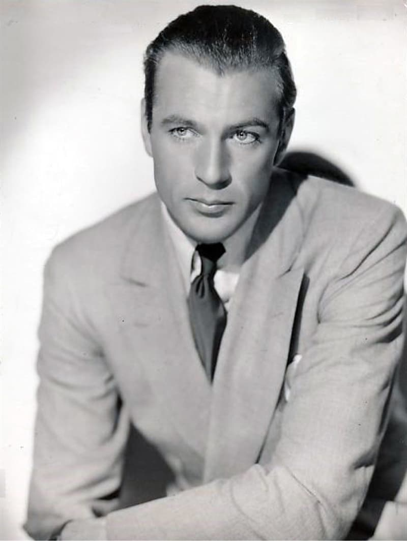 """History Story: #2 Gary Cooper was offered the part of Rhett Butler in """"Gone with the Wind"""" but couldn't agree because of his long-term contract with Goldwyn Studios"""