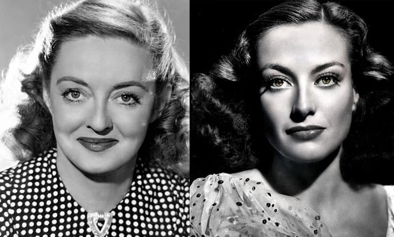 """History Story: #5 The rivalry between Joan Crawford and Bette Davis is believed to have lasted for more than half a century. Though nobody knew the truth about their relationship, when Crawford passed away, Davis famously said, """"You should never say bad things about the dead, you should only say good. Joan Crawford is dead. Good."""""""