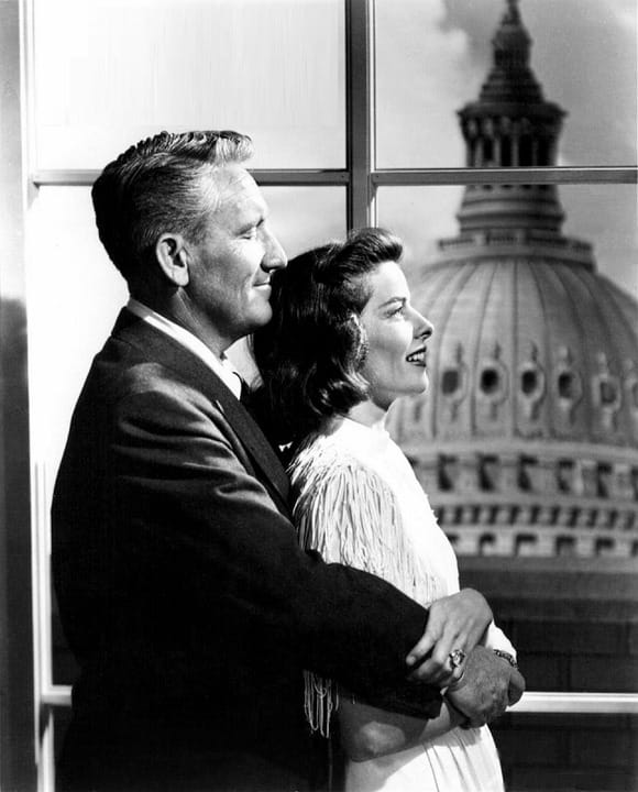 History Story: #7 Katharine Hepburn's love affair with Spencer Tracy lasted for 27 years, until Tracy's death. His marriage was unhappy but Tracy never divorced.