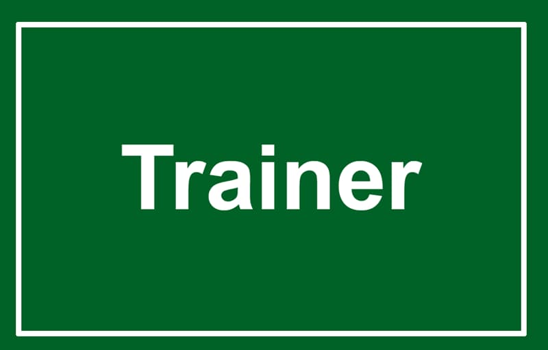 Society Story: Trainer