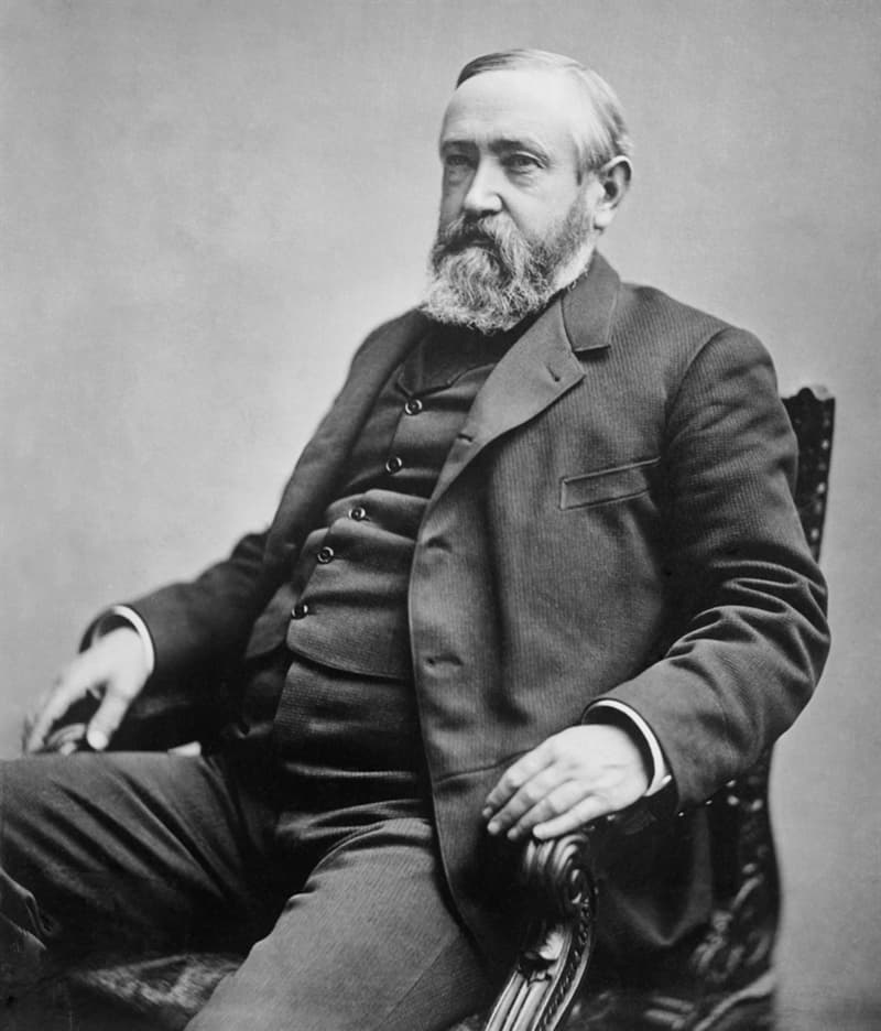 knowledge Story: #7 Benjamin Harrison was a court crier.