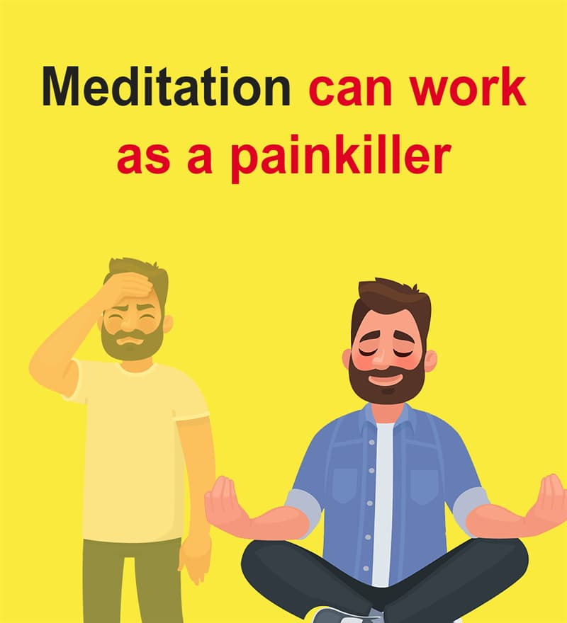 Science Story: Meditation can work as a painkiller