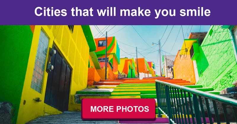 Geography Story: Top 10 most brightly painted cities in the world