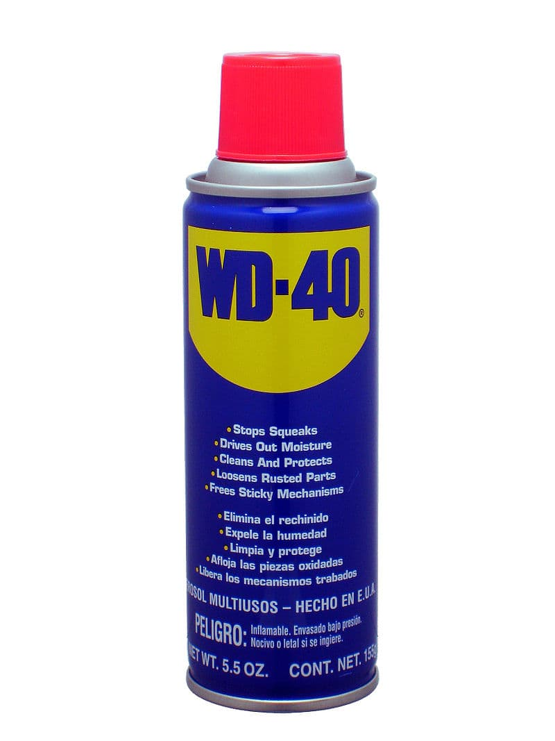 History Story: #8 WD-40 was meant to be used to protect the outer skin of ballistic missiles from rust and corrosion, but later it was found to have numerous household uses