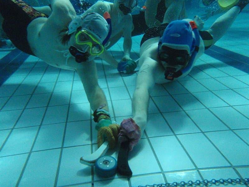 Culture Story: #1 Underwater hockey or Octopush (UK)