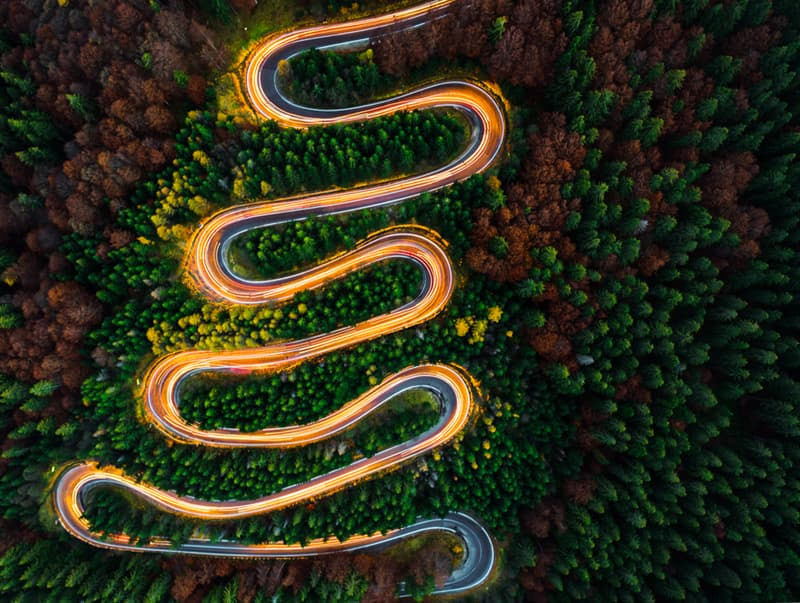 Nature Story: The most breathtaking winding  roads in the world