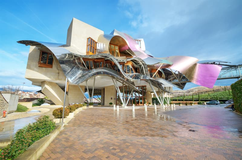 Geography Story: #2 The Marques de Riscal winery in Spain's Basque Country