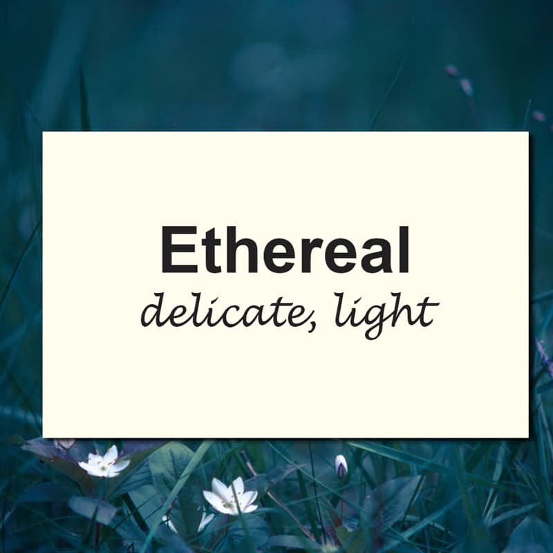 Culture Story: 10 of the most beautiful English words we should use more often #6