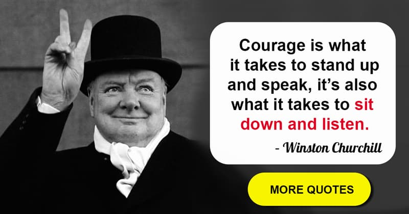 History Story: 10 of the wittiest and most powerful quotes by Winston Churchill