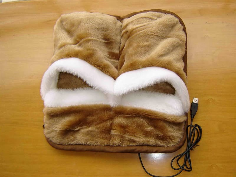 Culture Story: #11 USB-powered slippers