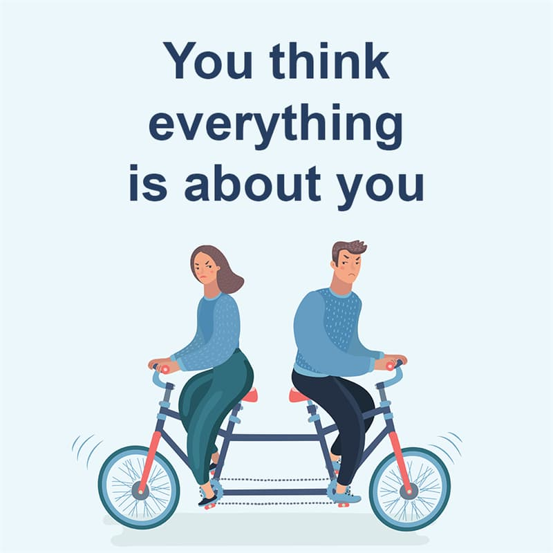 Society Story: You think everything is about you
