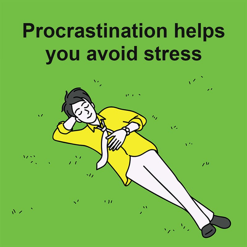 Science Story: Procrastination helps you avoid stress