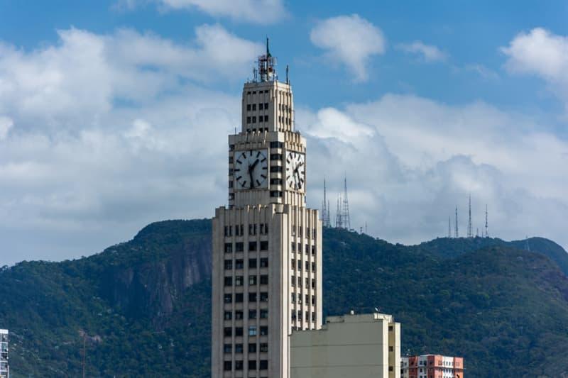 Geography Story: #2 Central do Brasil Clock in Rio de Janeiro