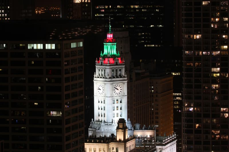 Geography Story: #6 Wrigley Building in downtown Chicago